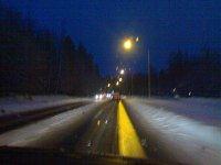 Pimeydessä ja kosteudessa lähdimme kohti Myllymäkeä