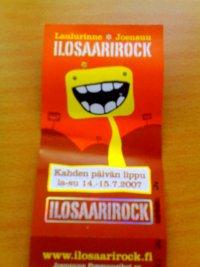 Ilosaarirock '07