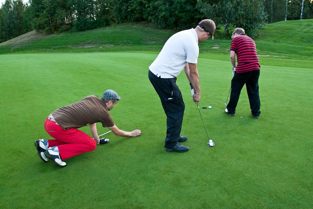 Golf härdelli