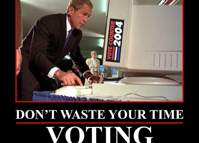 Äänestäminen on hyödyllistä
